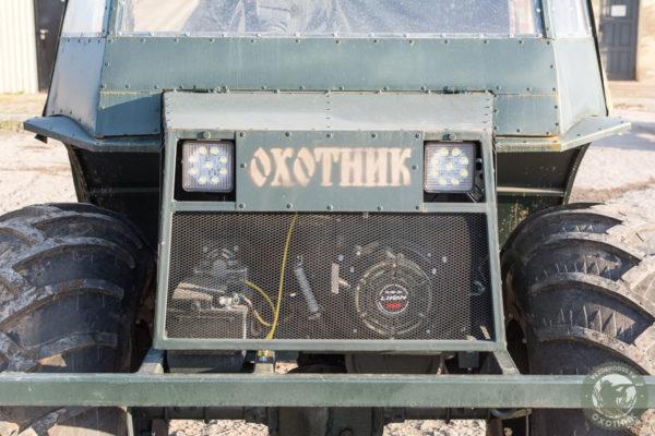 """Болотоход и вездеход """"Охотник-М 01"""" от производителя"""